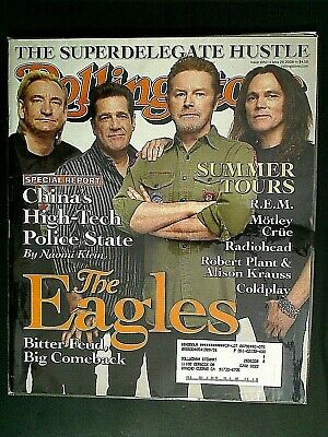 ROLLING STONE MAGAZINES - 2008 THE EAGLES FEUD & BIG COMBACK Summer Tours