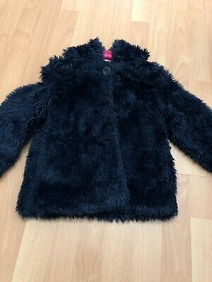 M&S Autograph Girls Fluffy Coat Age 4-5