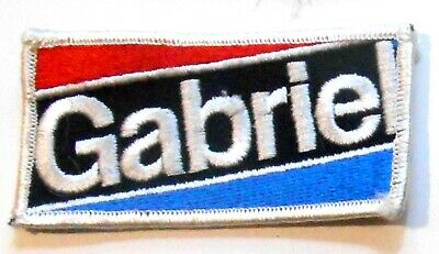 "Gabriel Patch Embroidered Garage 4"" inches Shocks"