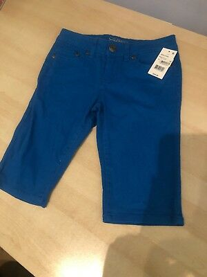 Celebrity Pink Girls Blue Long Shorts, Age 10, New