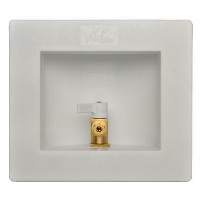 SharkBite 1/2 in. Push-to-Connect Brass Ice Maker Outlet Box 25032