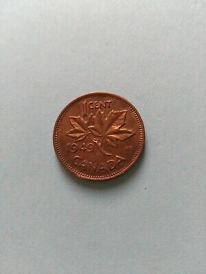 Collectable Grade1949 Canadian Small Penny (1c), No Reserve!