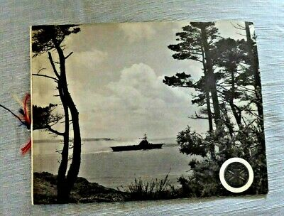 Vintage Publication France French Navy Ship Aircraft Carrier F Foch 1963