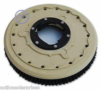"Cleanfix Floor Polisher / Scrubber 17"" Carpet Shampoo Brush R44, Powerdisk, Duo"
