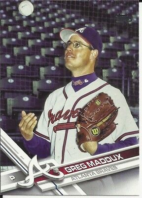 Greg Maddux 2017 Topps Update Sp Photo Variation #Us162 See Scan Nice!