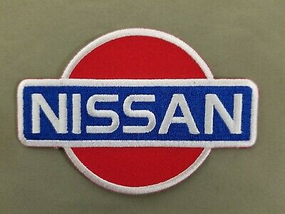 Nissan Embroidered Iron On Automotive Patch.
