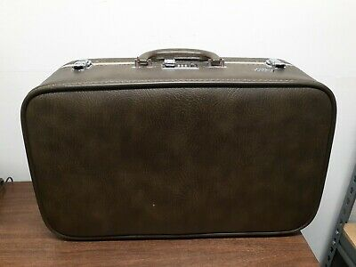 Vintage Ventura AirNita Travel Luggage Case Olive Green