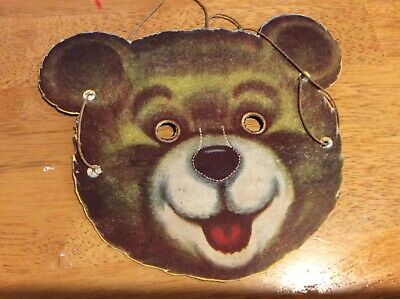 Kelloggs Cut Out Mask Vintage Cereal Collectable