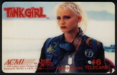 Tank Girl (1995 United Artist Movie) Set of 6 Cards Phone Card