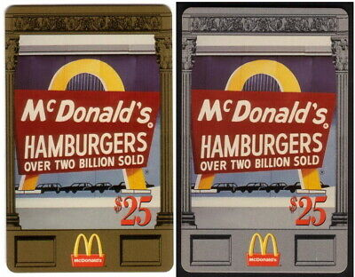 $25. 17th National McDonald's 1996: Complete Matched Set of 20 Diff. Phone Card