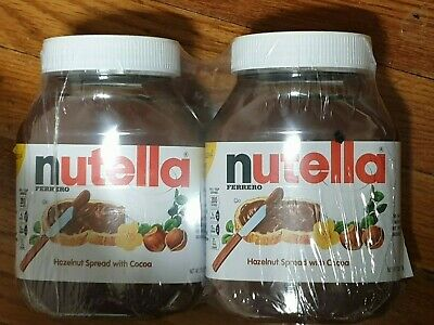 Nutella Hazelnut Spread with Cocoa, 33.5 oz, x 2 PC Count NEW