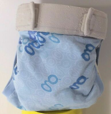 GDiapers Medium GooGoo Boy Blue GPants & Pouch Limited Edition