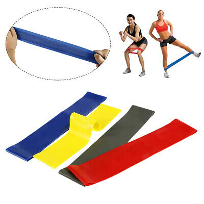 New Resistance bands Exercise Loop Band Set Fitness Gym Elastic Hip Booty Band r