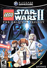 LEGO Star Wars II: The Original Trilogy (Nintendo GameCube, 2006) DISC IS MINT