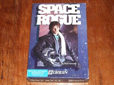 Space Rogue vintage Big Box PC game on 3.5in disk for XT 286 386 486
