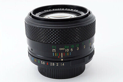 Rare [AS IS] Fuji EBC Fujinon 50mm f/1.4 MF Lens for M42 Mount From Japan