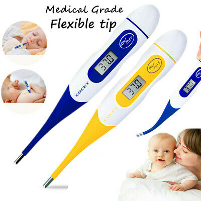 Digital LCD Thermometer Baby Adult Body Kids Safe Ear Mouth Medical Temperature
