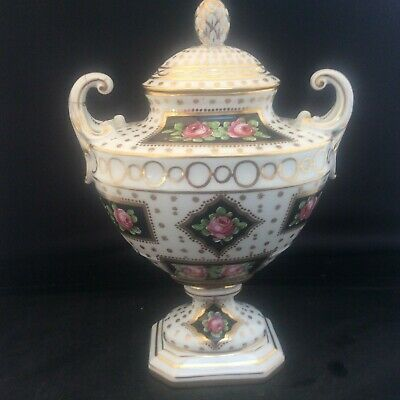 Antique French Porcelain Ormolu Handpainted Urn Sèvres Samson Limoges 1/12/26