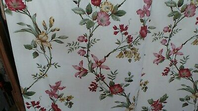 Very pretty paor of curtains Country cottage Shabby Chic