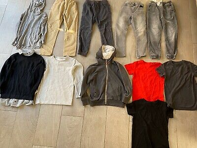 8x Next Boys Bundle Of T-shirts/hoodies/jeans/jumpers Tracksuit Bottoms Aged 8