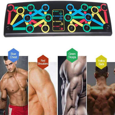hot 14-in-1 Body Building Exercise Tools Workout Push-up Stands