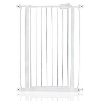 Safetots Extra Tall Baby Child and Pet Safety Gate 75cm-82.6cm White RETURN