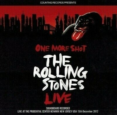 [2CD] The Rolling Stones / 50&Counting Tour Soundboard New Jersey