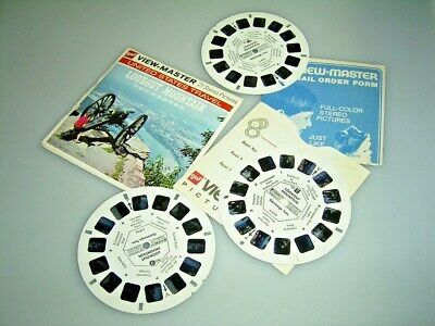 VIEW MASTER  3 Scheiben LOOKOUT MOUNTAIN; Tennessee