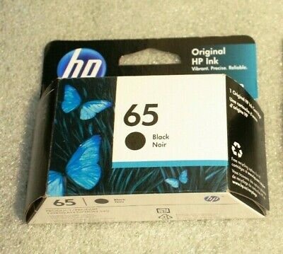 BRAND  NEW HP 65 Black Ink Cartridge -N9K02AN,Exp SEPT 2021 UP, FAST SHIP