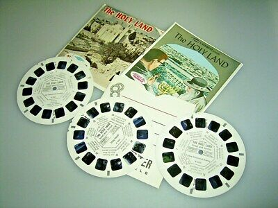 VIEW MASTER  3 Scheiben THE HOLY LAND Israel & Jordan