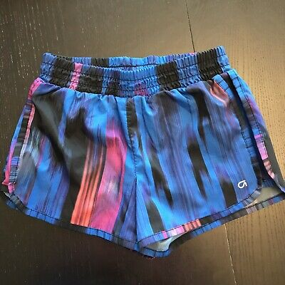 Girls GAP FIT athletic shorts w/ built In panties Large yoga running gym shorts