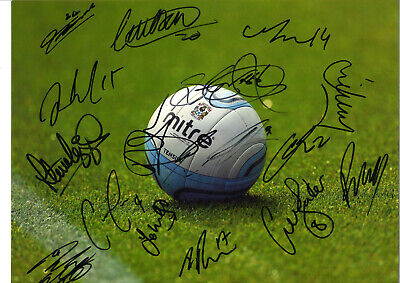 Coventry City FC Multi Signed 16 X 12 inch authentic football photo SS1040