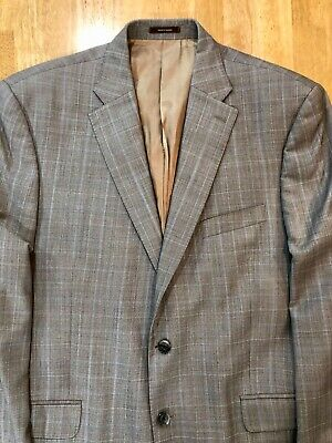 Peter Millar Men's 100% Wool Sport Coat Sz 44T