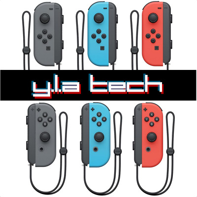 Nintendo Switch Joy-Con OEM Replacement Controller with Strap