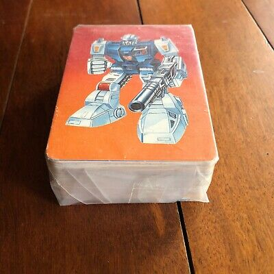 1985 TRANSFORMERS Trading Cards Complete Set (100/100) HASBRO RARE