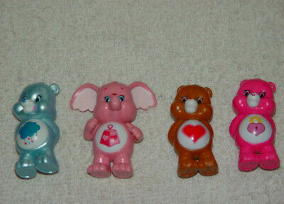 Set of 4 Care Bears From Care Bear Blind Bags Pack #4