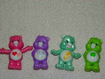 Set of 4 Care Bears From Care Bear Blind Bags Pack #1