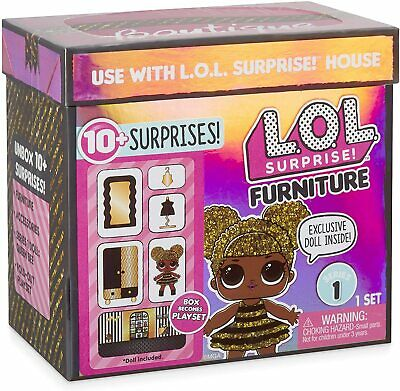 NEW LOL Surprise Doll House Furniture Set QUEEN BEE BOUTIQUE L.O.L. OMG Series 1