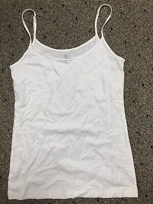 Ann Taylor LOFT Womens Live Love Small Black Adjustable Strap Camisole NWT
