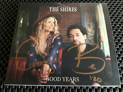 The Shires - Good Years (NEW CD 2020) ***SIGNED / AUTOGRAPHED***