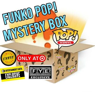 Guaranteed Value Funko POP Chase Or Exclusive Mystery Lot