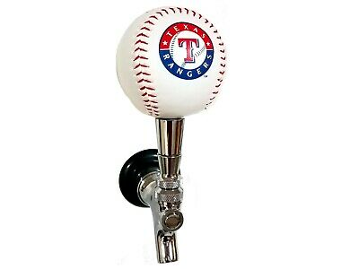 Texas Rangers MLB Licensed Baseball Beer Tap Handle