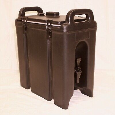 Cambro 250LCD Camtainer Black 2.5 Gallon Insulated Beverage Container