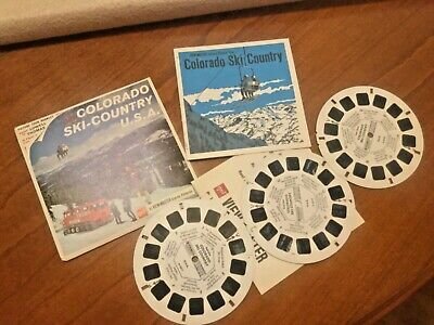 VIEW MASTER  3 Scheiben COLORADO SKI-COUNTRY U.S.A.