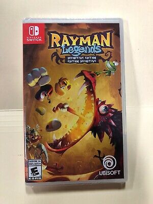 Rayman Legends: Definitive Edition (Nintendo Switch, 2017)