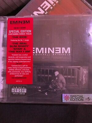 Eminem -The eminem Show & The Marshall Mathers LP- CD Lot Of 2. Have A L@@k!