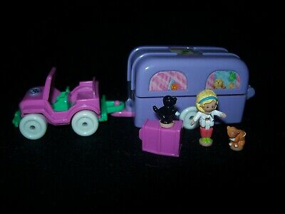 EUC 100% Complete Vintage Polly Pocket Pet Surgery on the Go 1996