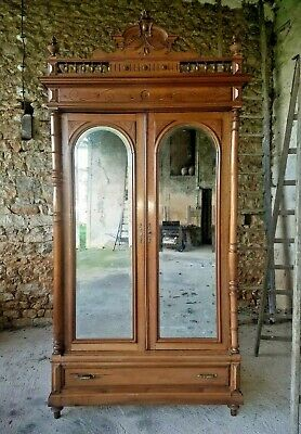 Splendid Antique French Armoire, Chateau Louis XIII Renaissance Style