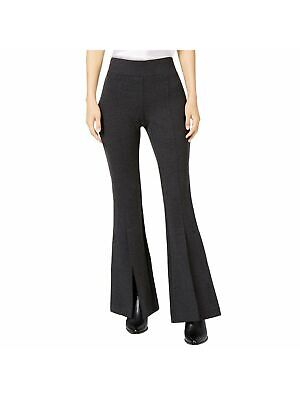 INC $79 Womens New Gray Slitted Flare Casual Pants 10 B+B