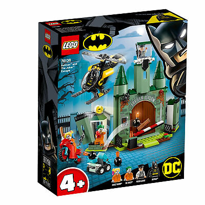 76138 LEGO DC Super Heroes Batman and The Joker Escape with Helicopter 171 Piece